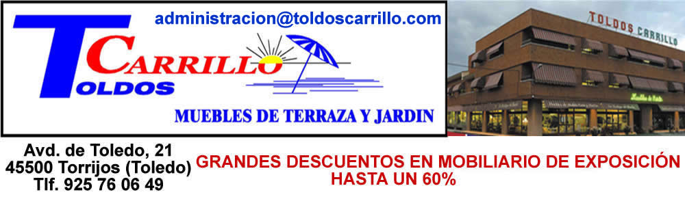 Muebles de Jardin y Terraza Toldos Carrillo